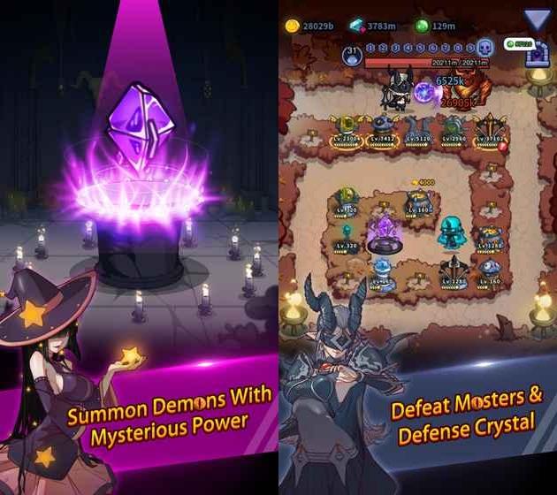 Idle Defense: Dark Forest - game thủ thành pha trộn nhập vai mới ra mắt cực đáng thử - Ảnh 2.