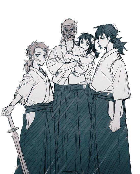 Thảnh thơi khi ngắm những khoảnh khắc bình yên hiếm hoi của các nhân vật trong Kimetsu no Yaiba - Ảnh 10.