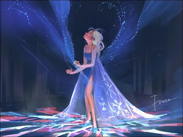 Chị em Nữ hoàng băng giá Elsa trong Frozen lột xác từ diện mạo tới tính cách qua nét vẽ của fan - Ảnh 13.
