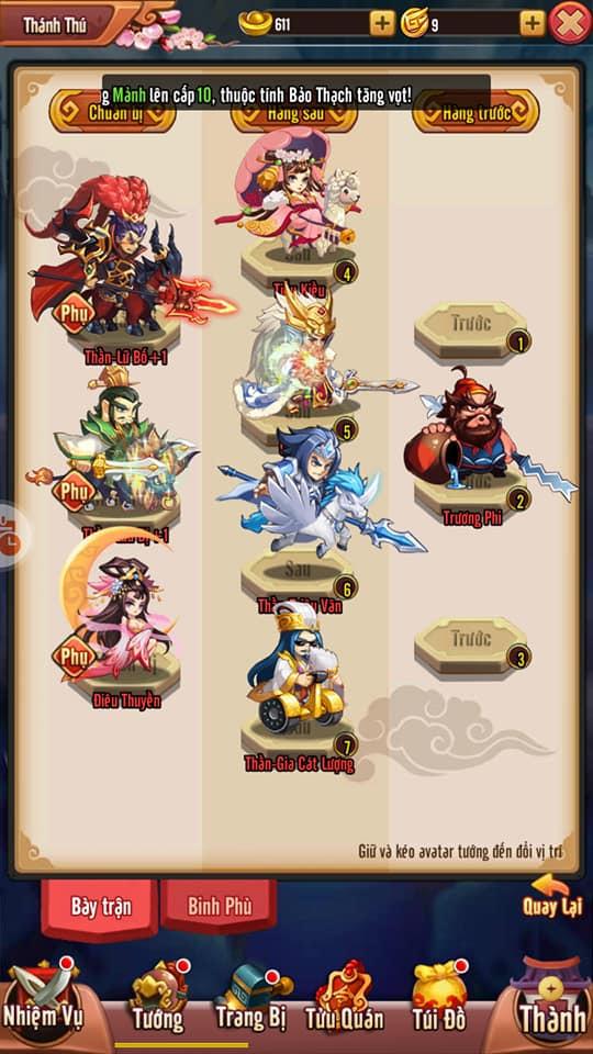 """Idol Tam Quốc - """"Game một chạm siêu lầy lội"""" chính thức ra mắt game thủ Việt vào ngày 15/1 - Ảnh 3."""