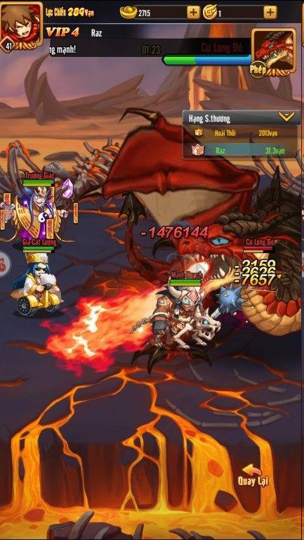 """Idol Tam Quốc - """"Game một chạm siêu lầy lội"""" chính thức ra mắt game thủ Việt vào ngày 15/1 - Ảnh 5."""