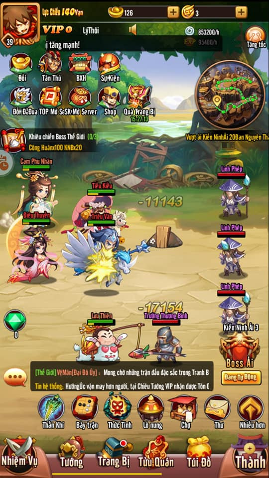 """Idol Tam Quốc - """"Game một chạm siêu lầy lội"""" chính thức ra mắt game thủ Việt vào ngày 15/1 - Ảnh 4."""