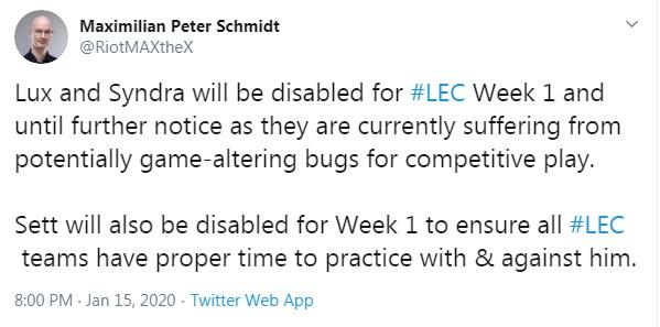 Lux và Syndra bất ngờ bị cấm khỏi giải đấu chuyên nghiệp vì lỗi nặng - Ảnh 2.
