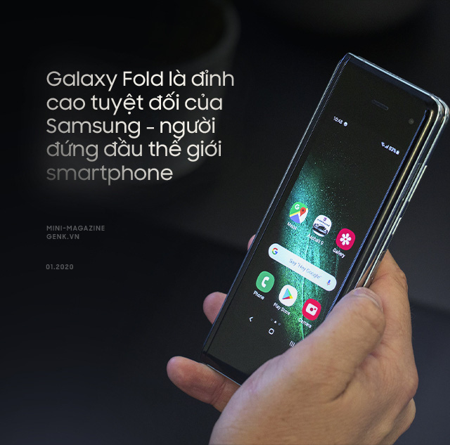 Galaxy Fold: A luxurious ticket to enter the world of high technology - Photo 2.