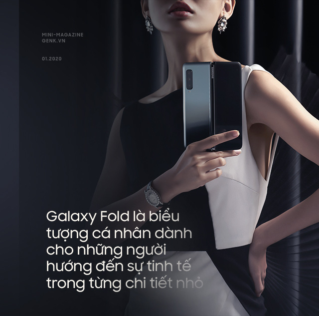 Galaxy Fold: A luxurious ticket to enter the world of high technology - Photo 3.
