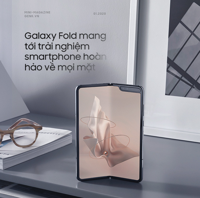Galaxy Fold: A luxurious ticket to enter the world of high technology - Photo 4.