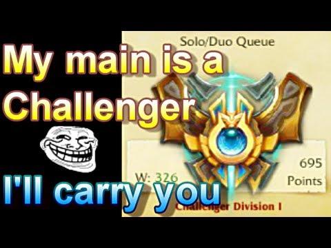 Chiêu trò của thử thách 100+ trận chuỗi thắng LMHT - Tìm cách lấy hell elo để hành gà nhiều hơn - Ảnh 1.
