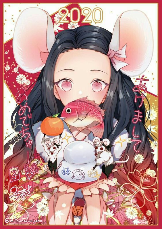 Dàn nhân vật Kimetsu no Yaiba rủ nhau diện kimono Nhật Bản tưng bừng đón năm mới - Ảnh 13.