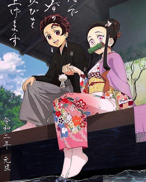 Dàn nhân vật Kimetsu no Yaiba rủ nhau diện kimono Nhật Bản tưng bừng đón năm mới - Ảnh 16.