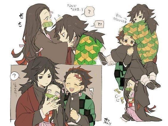 Kimetsu no Yaiba: Hóa ra anh Đụt và em gái quốc dân Nezuko lại là cặp đôi dễ thương phết - Ảnh 6.