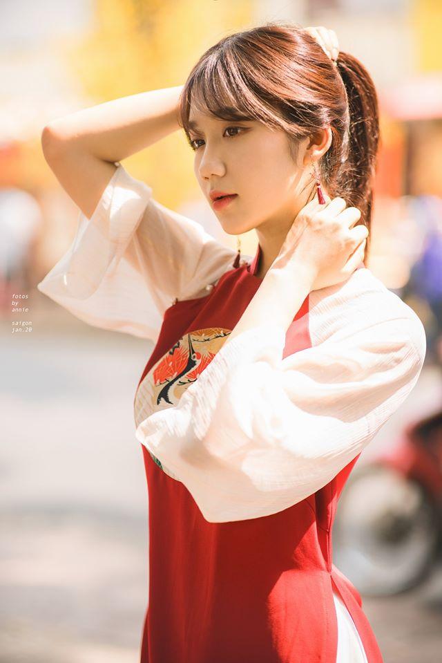 LMHT: Minh Nghi và Mina Young - 2 ngọc nữ của làng Esports Việt xúng xính áo dài chào xuân Canh Tý - Ảnh 9.