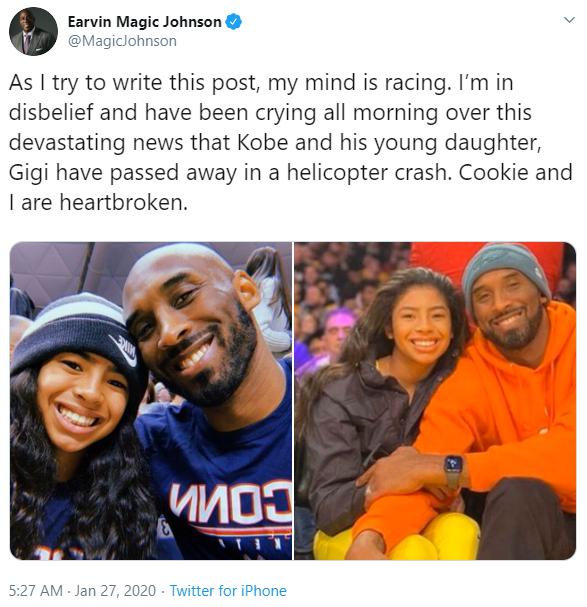 Huyền thoại bóng rổ Kobe Bryant qua đời, loạt streamer và cộng đồng mạng bày tỏ sự tiếc thương vô hạn - Ảnh 10.