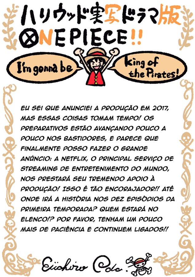 Netflix công bố thông tin về live action One Piece, Eiichiro Oda cũng sẽ tham gia sản xuất - Ảnh 2.
