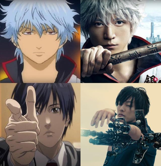 Khi nhân vật anime biến hóa theo phong cách live action, người thăng hoa nhan sắc kẻ lại bị ăn no gạch đá - Ảnh 1.