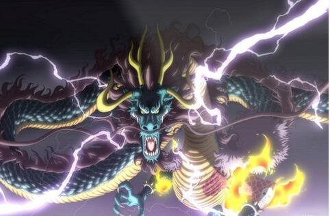 Spoiler nhanh One Piece chap 992: Kaido dùng sấm sét tấn công Cửu Hồng Bao, Momo không muốn nhận cha - Ảnh 1.