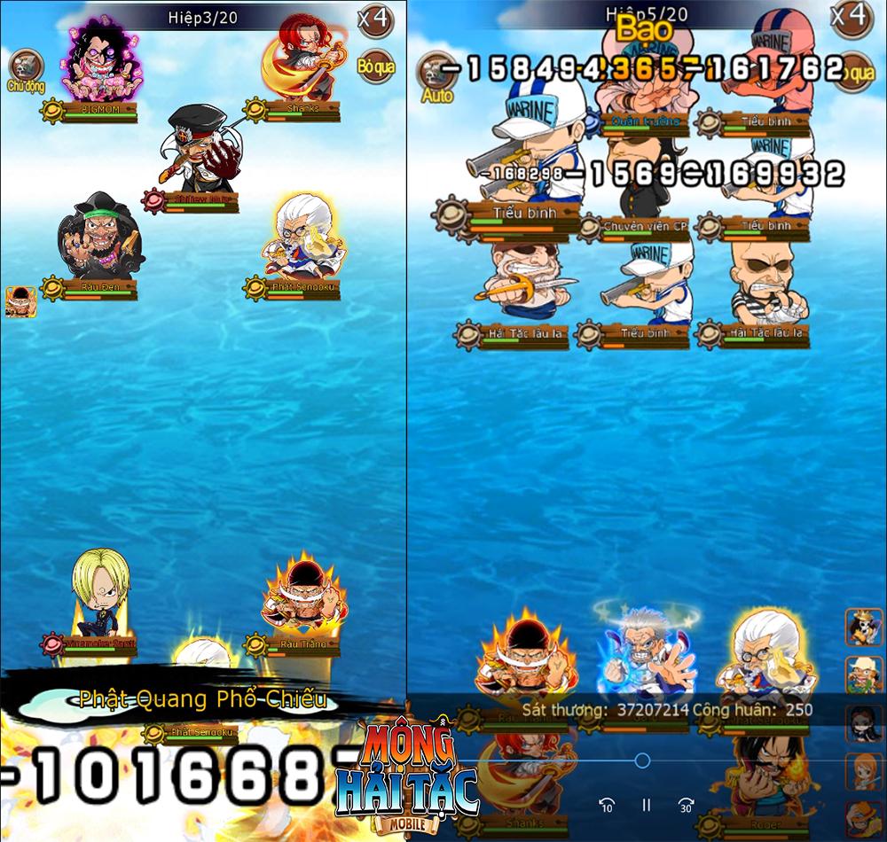 Game One Piece siêu nóng sắp ra mắt - Mộng Hải Tặc Mobile và 5 lý do nhất định các fan cuồng phải thử! - Ảnh 4.