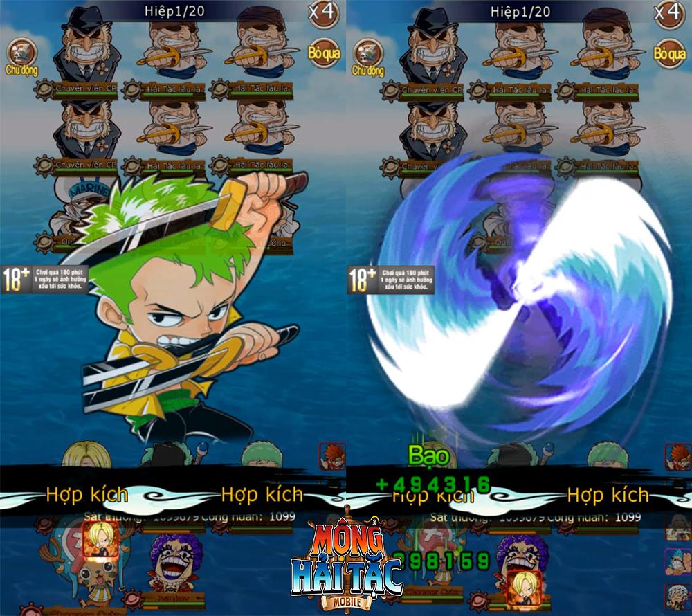 Game One Piece siêu nóng sắp ra mắt - Mộng Hải Tặc Mobile và 5 lý do nhất định các fan cuồng phải thử! - Ảnh 3.