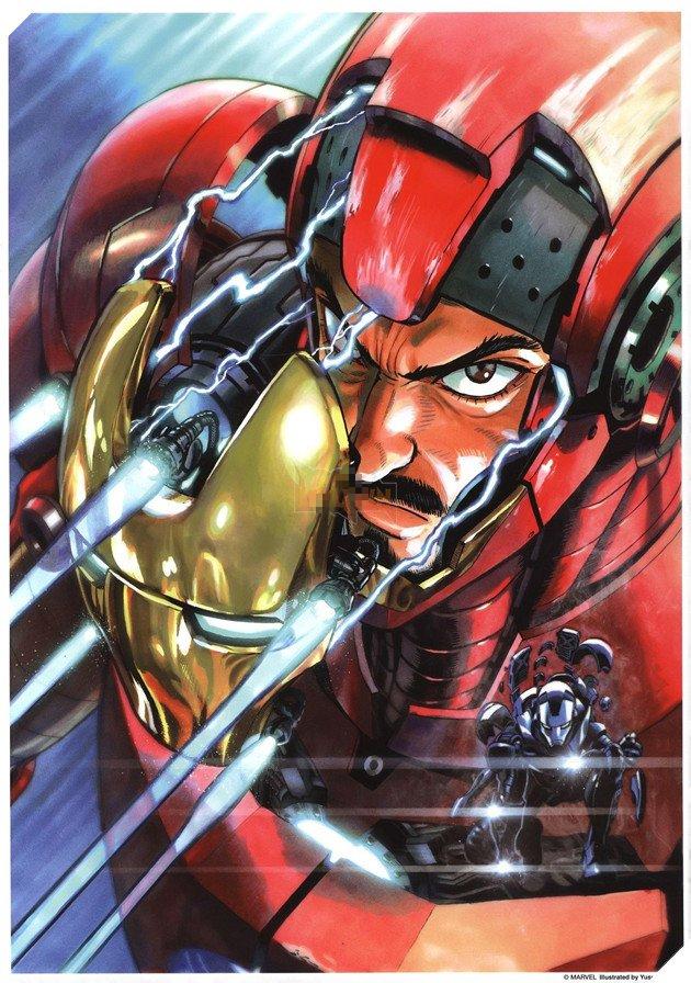 One Punch Man: Bỏ bê sáng tác, cha đẻ bộ truyện chuyển sang vẽ Iron Man, Spider-Man, Naruto, Dragon Ball - Ảnh 1.