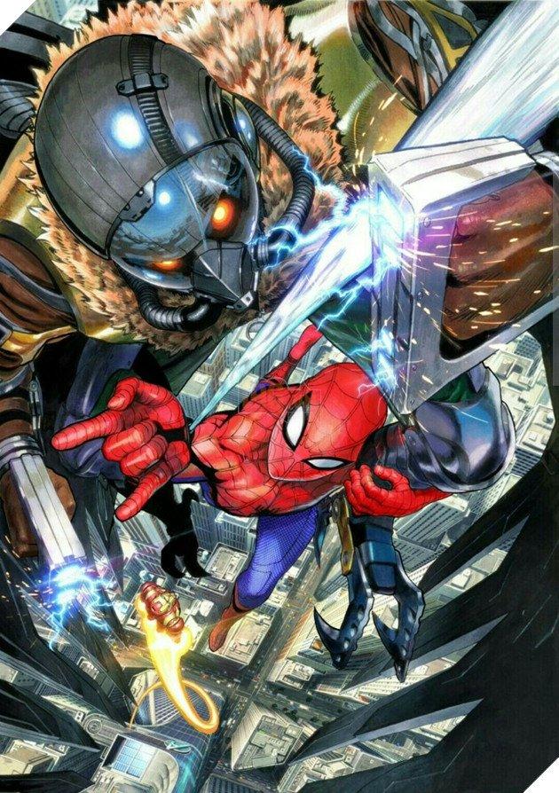 One Punch Man: Bỏ bê sáng tác, cha đẻ bộ truyện chuyển sang vẽ Iron Man, Spider-Man, Naruto, Dragon Ball - Ảnh 4.