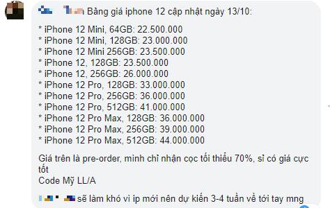 """Đã có cửa hàng đưa ra giá bán iPhone 12 tại Việt Nam, số tiền khiến nhiều người thấy """"nhói thận"""" - Ảnh 4."""