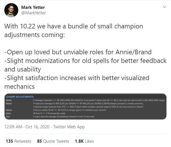 LMHT: Riot Games sẽ biến Annie thành tướng hỗ trợ chính hiệu ở bản 10.22 - Ảnh 1.