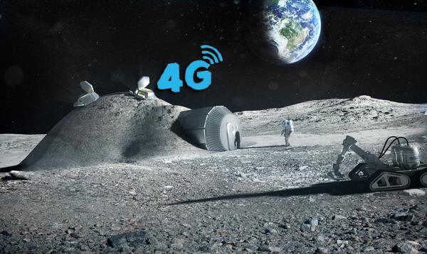 Nokia giành được hợp đồng xây dựng mạng 4G trên... Mặt Trăng - Ảnh 2.