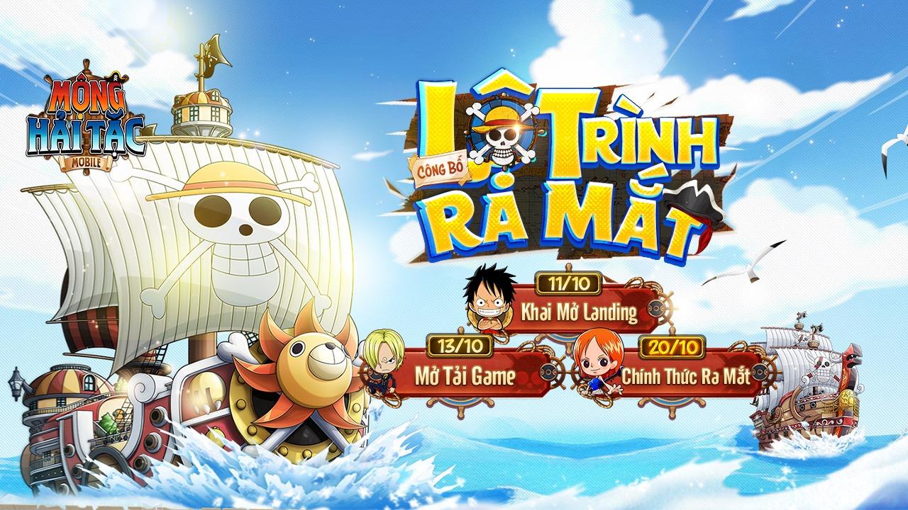 Quá cưng chiều các fan One Piece, Mộng Hải Tặc Mobile tặng FREE tướng đỏ Monkey D. Luffy, đếm ngược 12h trước ra mắt! - Ảnh 1.