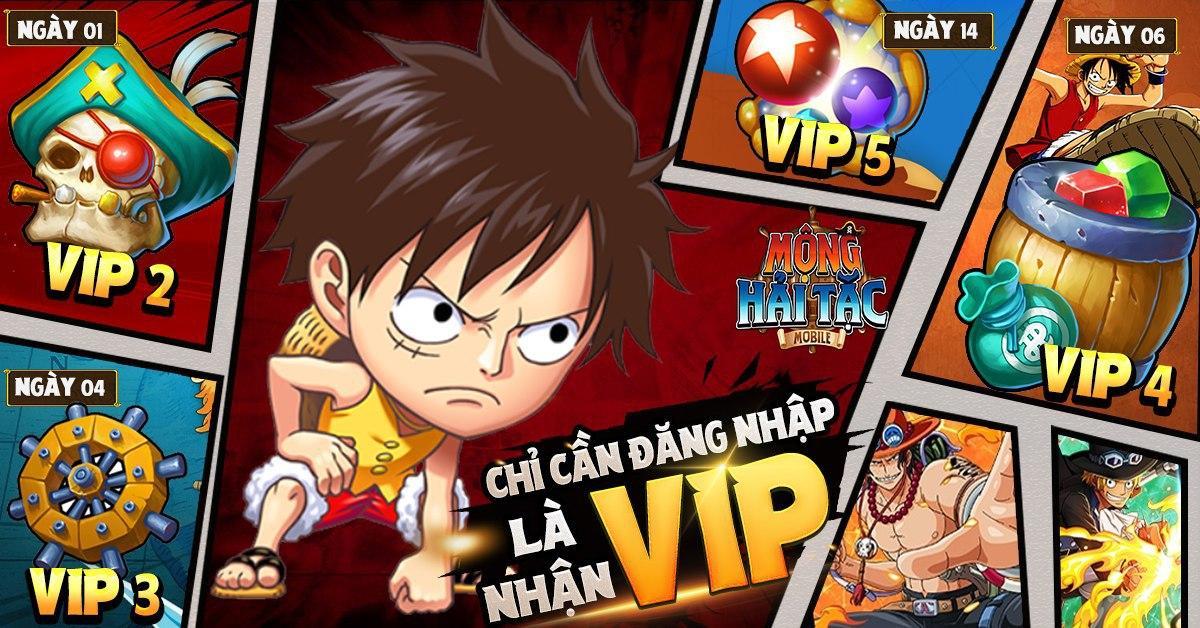 Quá cưng chiều các fan One Piece, Mộng Hải Tặc Mobile tặng FREE tướng đỏ Monkey D. Luffy, đếm ngược 12h trước ra mắt! - Ảnh 7.