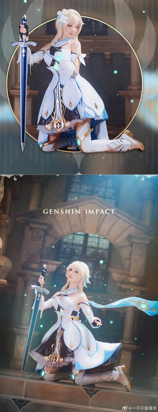 Nóng bỏng tay với bộ ảnh cosplay Lumine trong Genshin Impact - Game thế giới mở hot nhất hiện nay - Ảnh 6.
