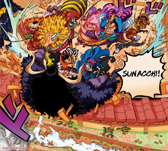 One Piece: Từng có cuộc tỷ thí giữa các Cửu Hồng Bao, ai mới là gia thần mạnh nhất của chúa công Oden? - Ảnh 3.