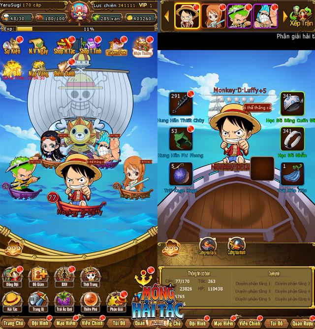 Game One Piece siêu HOT của tháng 10 - Mộng Hải Tặc Mobile chính thức ra mắt, tặng ngay 1000 Giftcode - Ảnh 2.