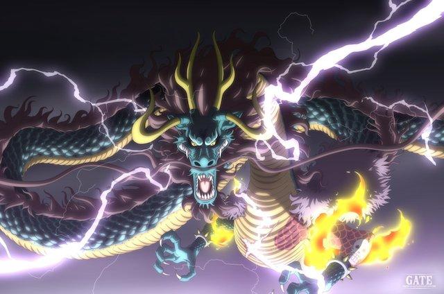 Tổng đốc Kaido chính là người có khả năng hồi phục mạnh nhất của băng Bách Thú