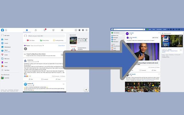 Hướng dẫn quay trở lại giao diện cũ của Facebook - Ảnh 1.