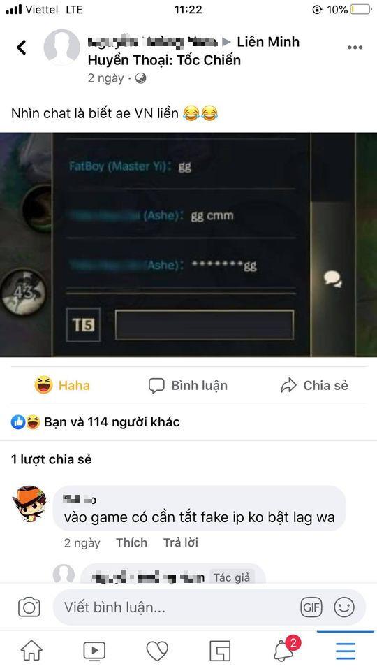 Người nước ngoài chat một câu xúc phạm tất cả game thủ Việt ngay trong LMHT: Tốc Chiến khiến CĐM phẫn nộ - Ảnh 3.