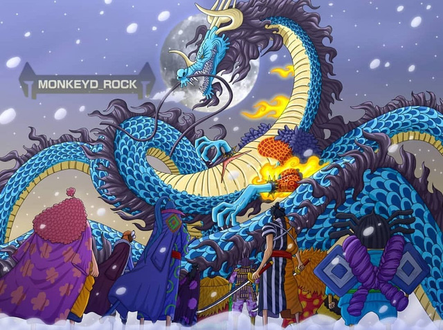 One Piece: Phải chăng đã đến lúc Cửu Hồng Bao tất tay với Kaido, mở đường cho Luffy thể hiện? - Ảnh 1.
