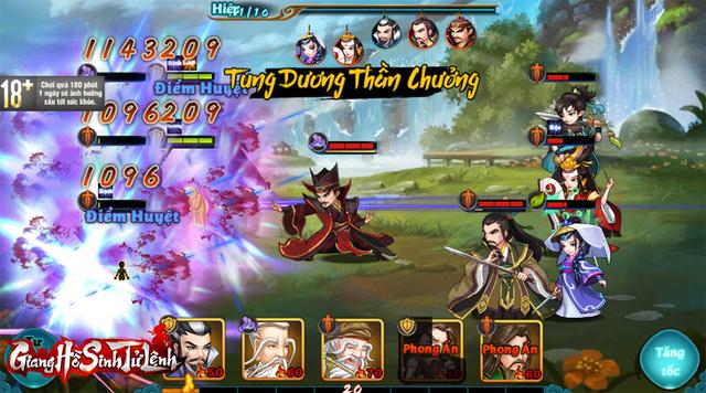 Giang Hồ Sinh Tử Lệnh giới thiệu Big Update 1.0: 2 tướng Thần Thoại mới, liên đấu liên server và phụ bản dành riêng cho bang hội - Ảnh 8.