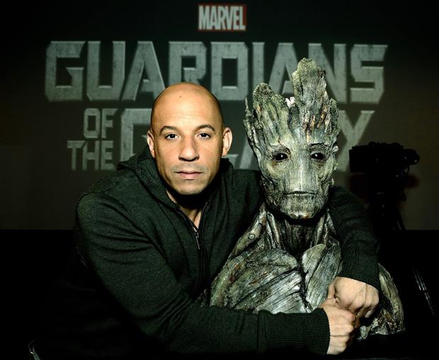 Là hình mẫu gốc của Drax nhưng sau tất cả Vin Diesel lại đi lồng tiếng cho cái cây, kiếm thù lao nghìn tỷ - Ảnh 3.