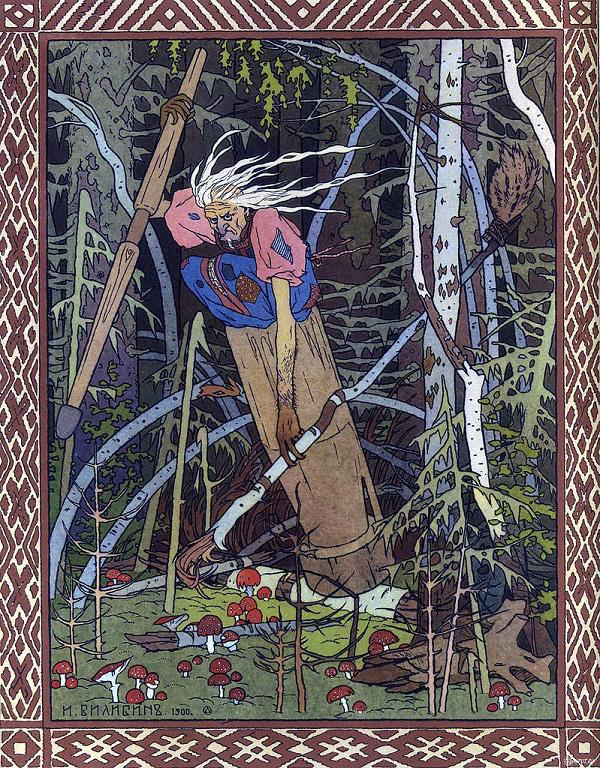 Baba Yaga – Truyền thuyết về phù thủy ăn thịt trẻ con của người Nga - Ảnh 1.