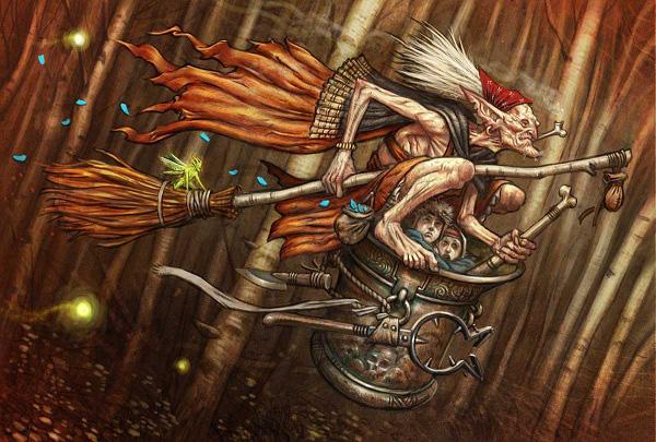 Baba Yaga – Truyền thuyết về phù thủy ăn thịt trẻ con của người Nga - Ảnh 2.
