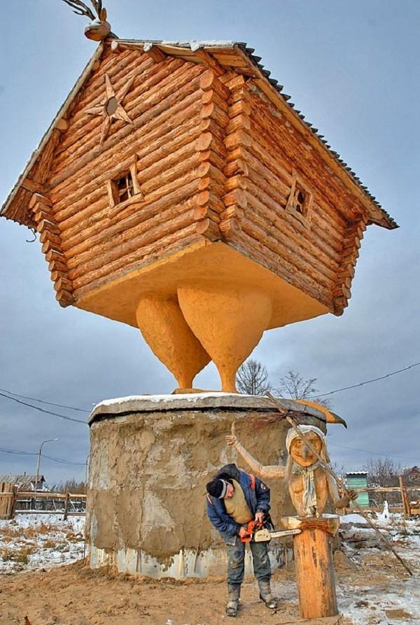 Baba Yaga – Truyền thuyết về phù thủy ăn thịt trẻ con của người Nga - Ảnh 7.