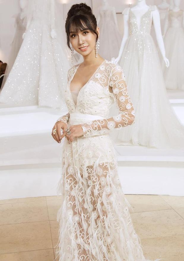 Lynk Lee diện váy cô dâu duyên dáng, khoe vòng một siêu gợi cảm khiến fan hâm mộ đổ rần rần khen xinh nức nở - Ảnh 1.