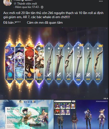 [Genshin Impact] Game thủ Việt lập kỷ lục quay ra 3 nhân vật 5 sao chỉ trong 1 lượt - Ảnh 3.