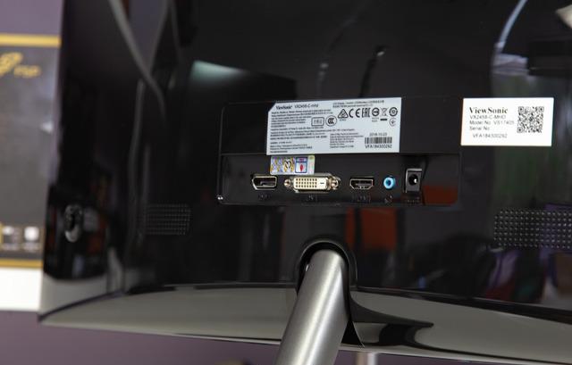 Màn hình gaming cong 144hz mà giá lại siêu rẻ: Viewsonic VX2458-C-mhd - Ảnh 5.