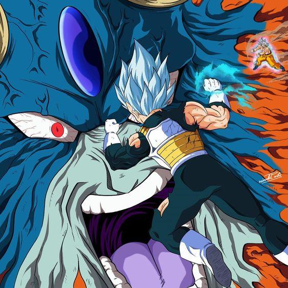 Dragon Ball Super Chap 66: Thời của Vegeta đã đến, hoàng tử saiyan có thể tỏa sáng ở cuối trận chiến với Moro không? - Ảnh 1.