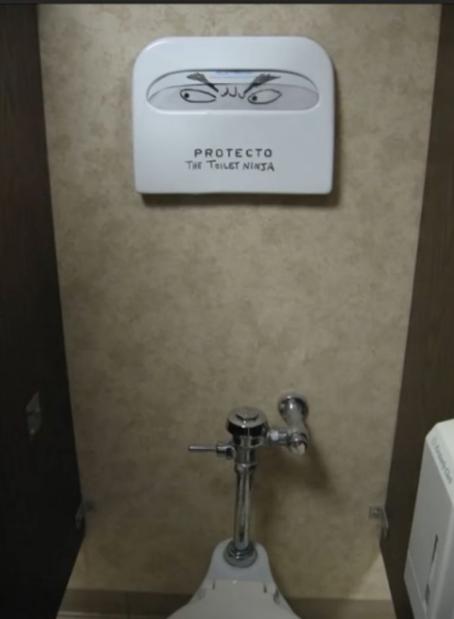 Loạt tác phẩm nghệ thuật cực ngẫu hứng trong nhà vệ sinh khiến dân mạng cười phá lên - Ảnh 13.