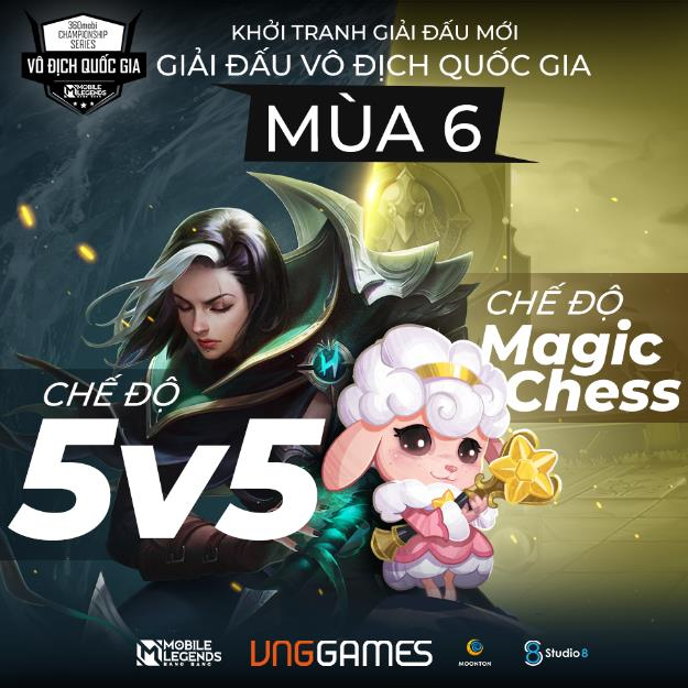 Mobile Legends: Bang Bang VNG tổ chức mùa giải mới với chế độ Magic Chess & 5V5 - Ảnh 1.