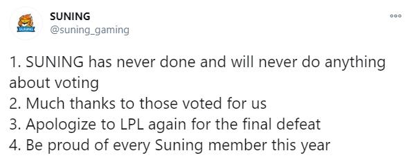 Game thủ Việt đổ xô bỏ phiếu, tỉ lệ bình chọn All-Star 2020 tăng bất thường khiến Suning bị nghi... gian lận phiếu bầu? - Ảnh 3.