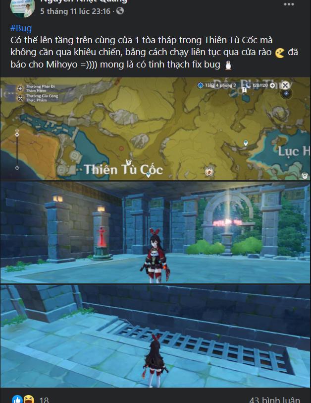 game thủ Genshin Impact tìm ra bug vui mừng khôn xiết 3-16056015167841899017235