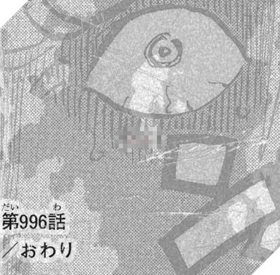 Hình ảnh ánh mắt người đàn ông kinh ngạc cuối One Piece chap 996