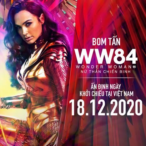 Warner Bros. chính thức xác nhận lịch khởi chiếu của bom tấn WONDER WOMAN 1984 tại Việt Nam - Ảnh 1.